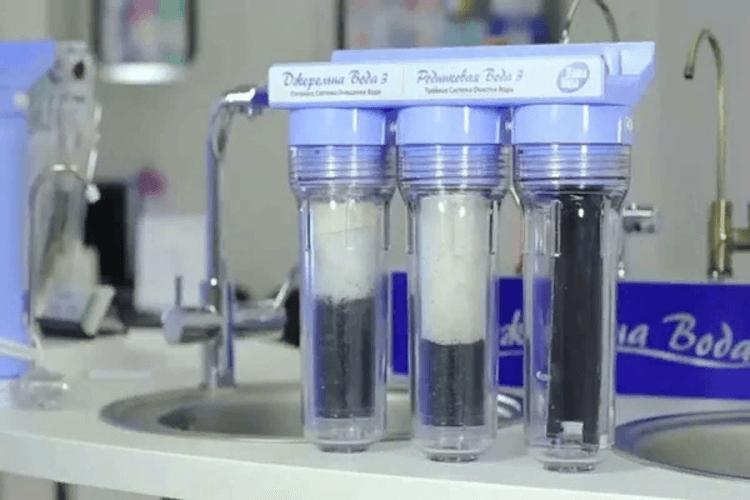 состав фильтра для воды