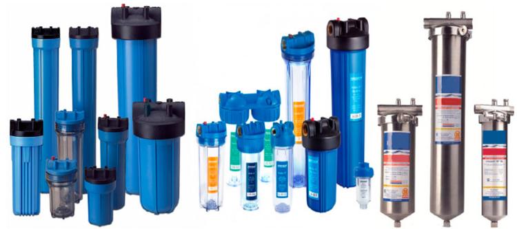 какие существуют фильтры для воды