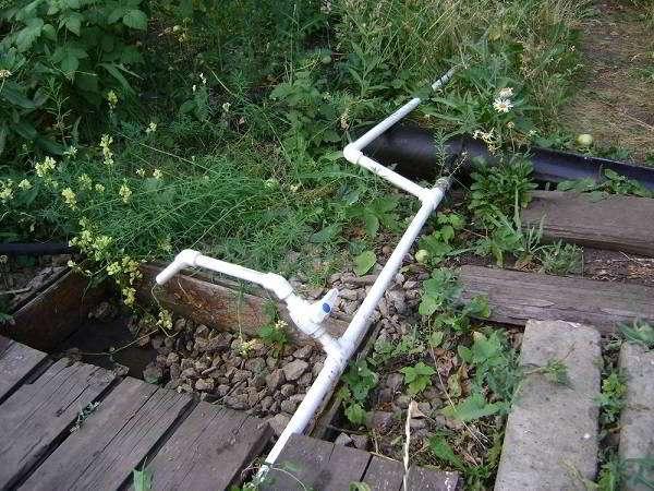 система дачного водопровода