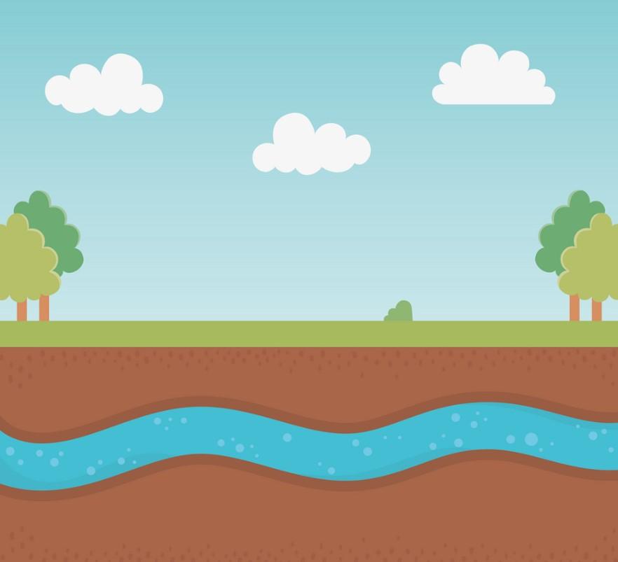условия залегания грунтовых вод